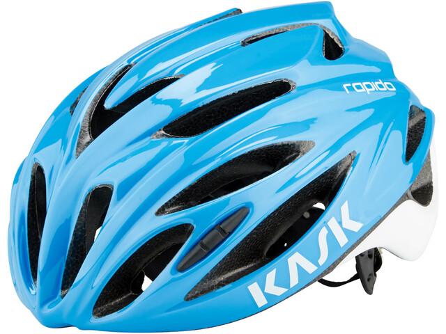 Kask Rapido Cykelhjelm, light blue